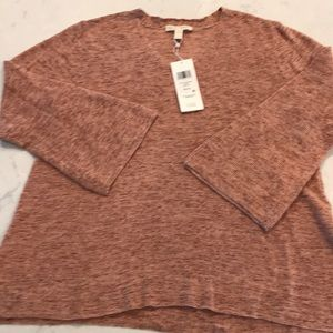 Eileen Fisher Sweater - Rust / Orange XS Petite